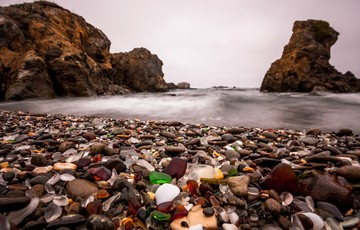The Glass Beach