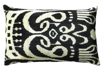 Silk Ikat Pillow Cushion