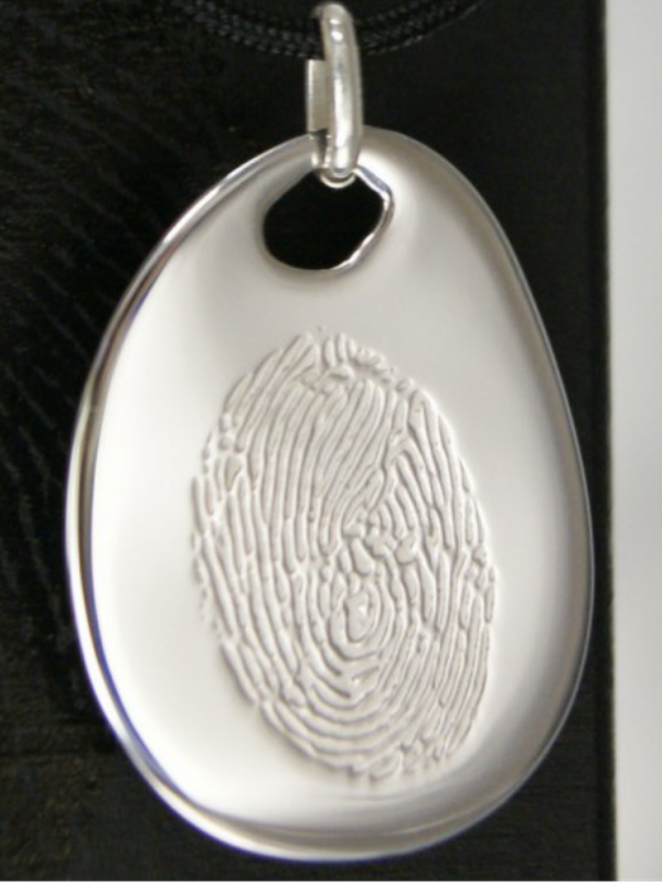 Engraved Fingerprint Jewellery: Les Empreintes