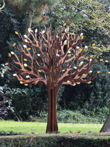 Steel Memorial Trees for Crematoriums and Cemeteries
