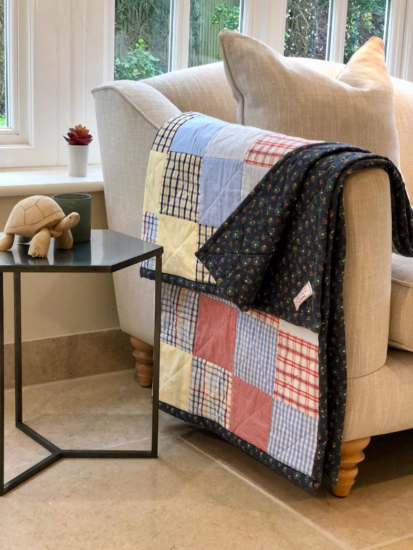 Patchwork quilts by Peggy