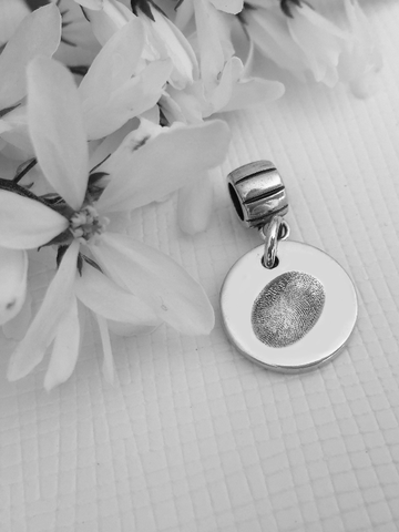Fingerprint Charm - Memory Treasures